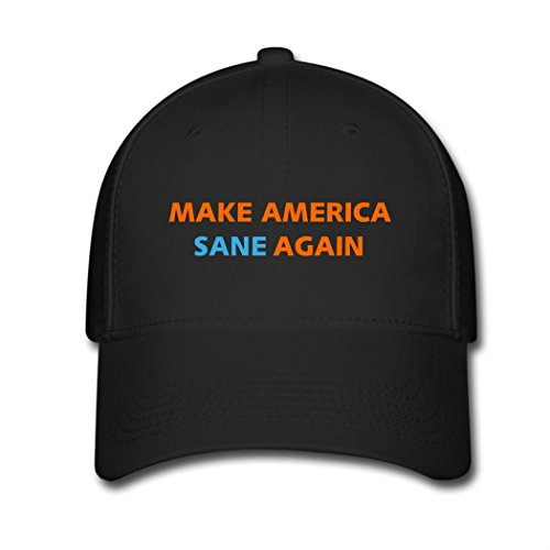 Kari Sports Fan Baseball Cap Make America Sane Again Hip Hop Flat Hat