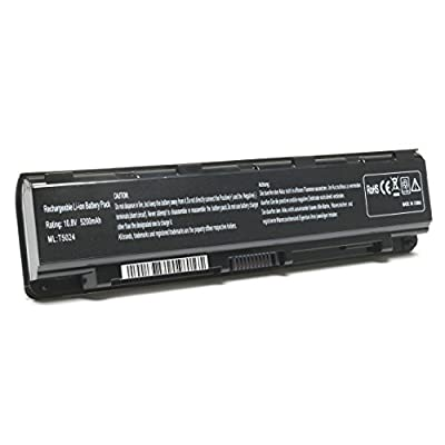 SIKER New Laptop Battery for Toshiba Satellite T572 C805 C850 C850D Dynabook Qosmio T752 PA5024U-1BRS PA5023U-1BRS PA5025U-1BRS PA5026U-1BRS PABAS259 by Siker
