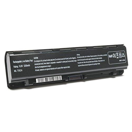 SIKER New Laptop Battery for Toshiba Satellite T572 C805 C850 C850D Dynabook Qosmio T752 PA5024U-1BRS PA5023U-1BRS PA5025U-1BRS PA5026U-1BRS PABAS259
