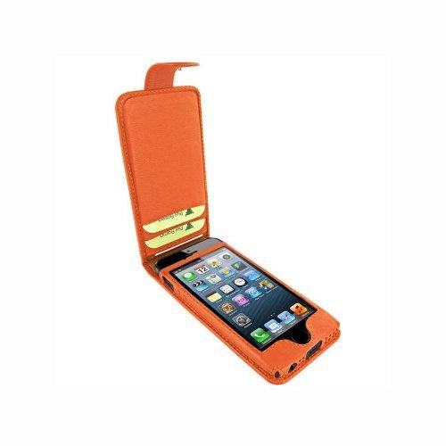 Piel Frama 601ORANGE Snap Ledertasche für Apple iPhone 5/5S orange