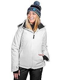 Wildhorn Frontera Premium Women's Ski Jacket - Designed in USA -Windproof, Insulated 12k Water-Resistant Snow Jacket