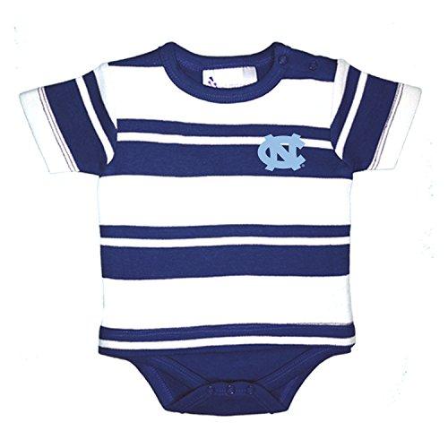 North Carolina Tar Heels NCAA Newborn Baby Rugby T-Shirt Creeper (12 Months)