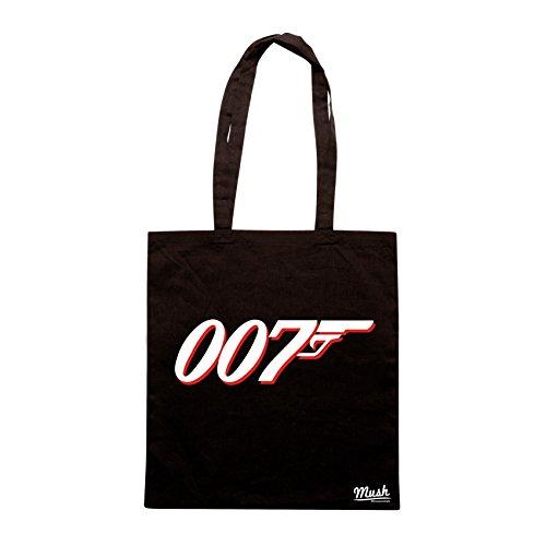 Borsa AGENTE 007 - Nera - FILM by Mush Dress Your Style