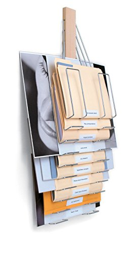 Up Filer Original, Hanging Wall File, 10 Hangers/Pockets. Allows for Letter/Legal/Oversized