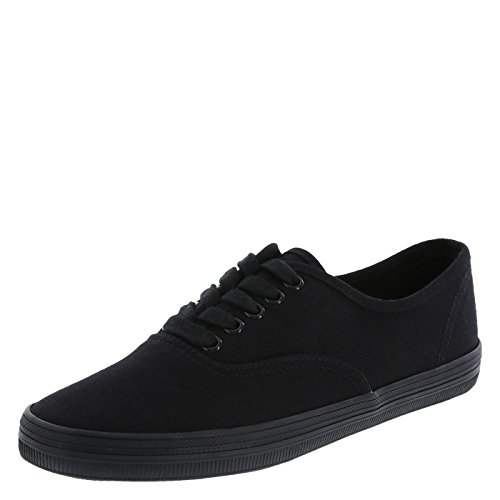(city sneaks Women's Black Women's Bal Sneaker 10 Wide)