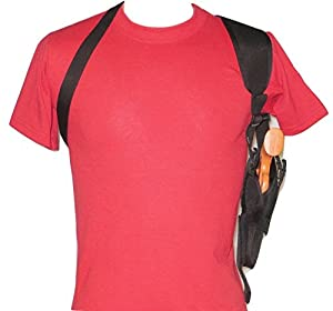 "Vertical Shoulder Holster for 4"" Revolver in 38 & 357 fits S&W, Ruger,Taurus Most Others"