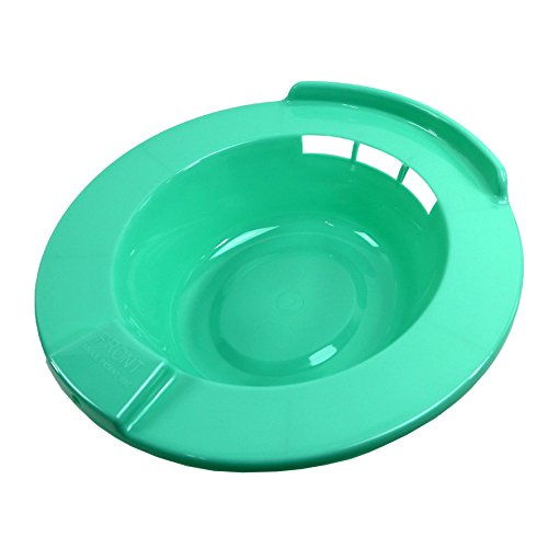 JBS Plastic Hard Sitz Bath for Toilet Bowl Hemorrhoid Care Maternity Personal Care
