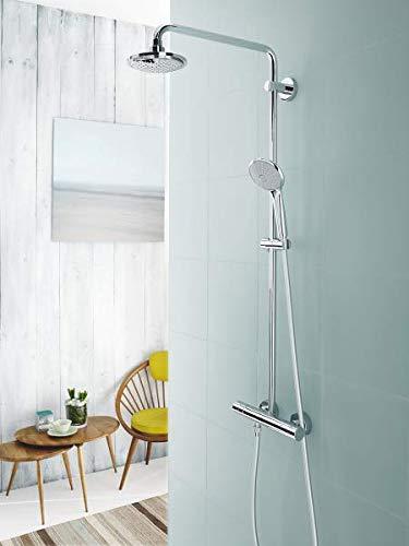Grohe Euphoria Concetto 260 Sistema de ducha con grifo monomando alcachofa SmartControl de 260/mm con soluci/ón de ahorro de agua y tres/chorros y teleducha Stick 23061002