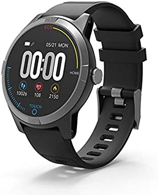 PRIXTON SWB28 – Smartwatch Bluetooth 4.0 con Electrocardiograma, Presión en Sangre, Pulsómetro, Resistente