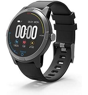 PRIXTON SWB28 – Smartwatch Bluetooth 4.0 con Electrocardiograma, Presión en Sangre,…