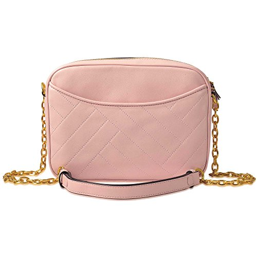 Tory Quartz Bag Camera Alexa Leather Pink Dark Burch rAwr0qP