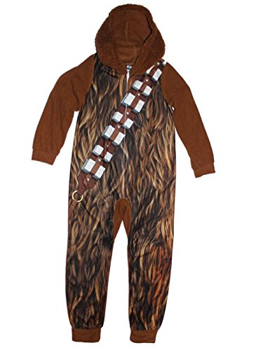 Star Wars Chewbacca Boys Hooded Union Suit 4-16 (Chewbacca Costumes Kids)