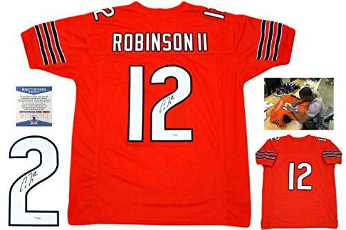 Allen Robinson Autographed Jersey - Orange Beckett - Beckett Authentication - Autographed NFL Jerseys
