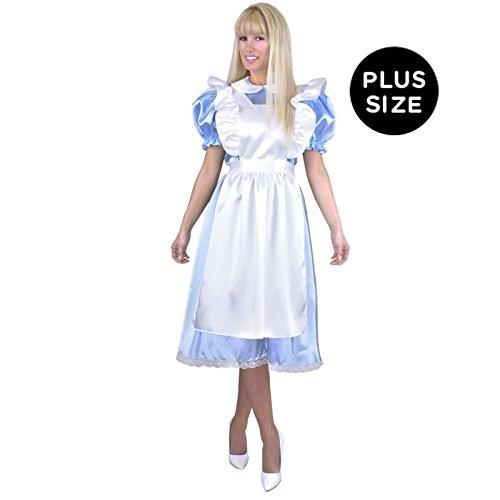 Buy light blue alice in wonderland dress - 5