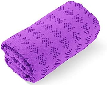 MFY Yoga Mat Toalla - Ultra suave, sudor absorbente, de ...