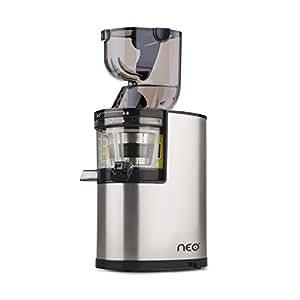 Oscar Neo XL Whole Slow Juicer – extractor de zumo de boca ancha, cold press juicer, 250W, Acero Inoxidable y BPA Free. Garantía DE POR VIDA