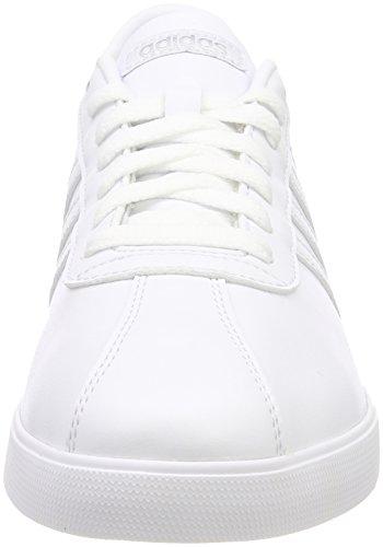 0 Courtset de Silver para Zapatillas W White Mujer adidas Footwear Blanco White Matte Deporte dtqOdn