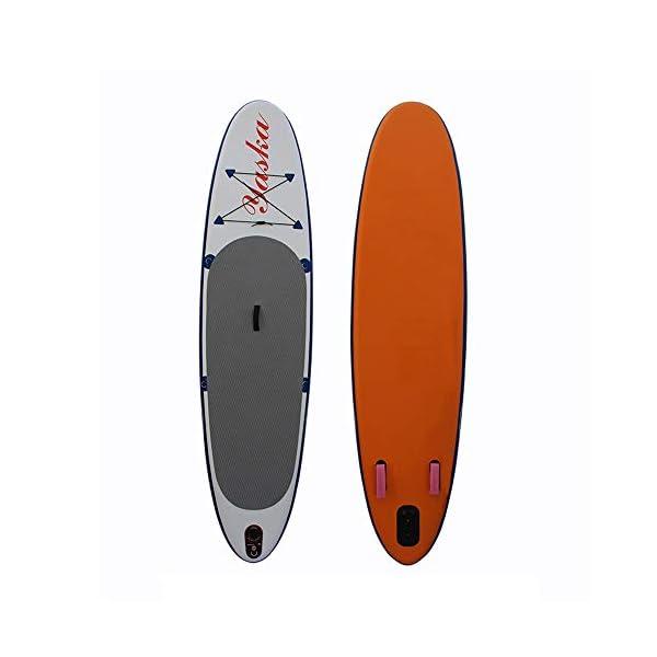 Stand Up Paddel Gonfiabile 6 pollici di spessore gonfiabile Stand Up Paddle insieme del bordo Con triple Pinne for Surf… 1 spesavip