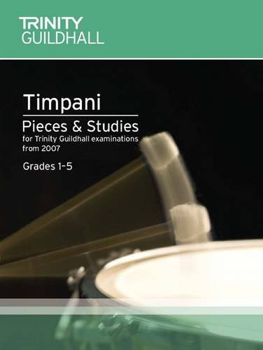 Percussion Exam Pieces & Studies Timpani: Grades 1-5 (Trinity Guildhall Percussion Examination Pieces & Studies) Text fb2 book