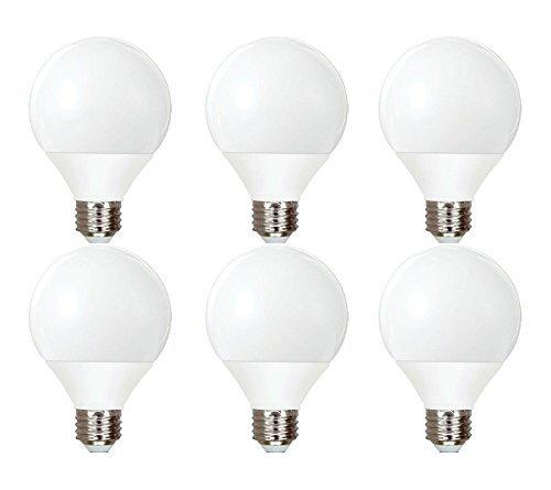 (GE Lighting 89096 Energy Smart CFL Soft White 11-Watt (40-watt replacement) 500-Lumen G25 Light Bulb with Medium Base, 6-Bulbs)