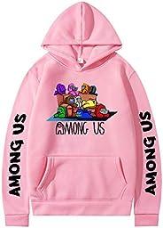 bettydom Boys' Fashion Hoodies Among Us Game Lovers Pullovers Sweatsh