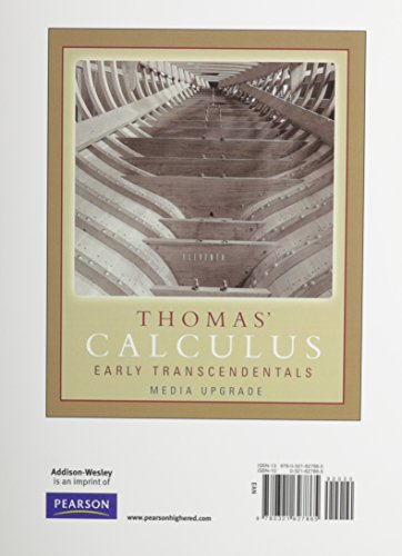 Thomas' Calculus, Media Upgrade, Part Two (Multivariable Chap 11-16), Books a la Carte Edition (11th Edition)
