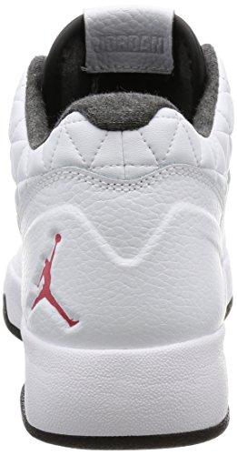 Nike Mens Jordan Embrayage Chaussures De Basket-ball Blanc Gym Noir 101