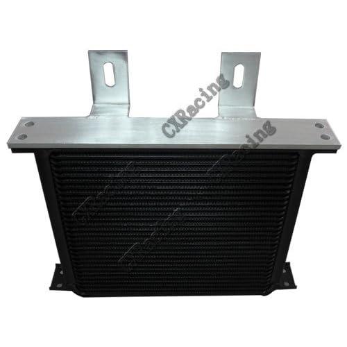 "NPT 1//2/"" Fitting Hi Performance CXRacing Aluminum Oil Cooler 13 Rows"
