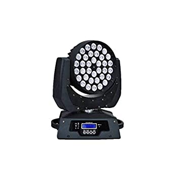 oukaning DMX512 Efecto de luz mini Moving Head PINSPOT LED Luz 360 W Zoom RGBW DJ Etapa iluminación Wash luz: Amazon.es: Instrumentos musicales