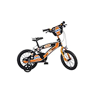 "41Bg8MKwChL. SS300 Dino Bikes- BMX da ragazzo, marca Dinobikes 14"", da 4 a 6 anni, 145XC"