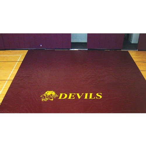 Ssn 1257786 22 oz Deluxe Gym Floor Covers44; Navy & Blue