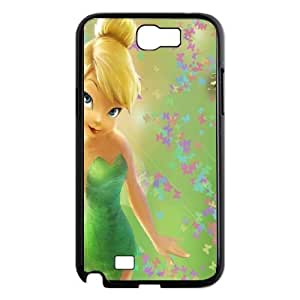 SamSung Galaxy Note2 7100 phone cases Black Tinkerbell cell phone cases Beautiful gifts NYU45756319
