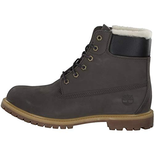 Premium Timberland Inch Shearling 6 Lined Grigio Boot Donna pSZwqEZ