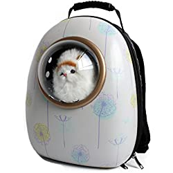 YAAGLE Space Cartoon Pattern Pet Bag Shoulder Bag Backpack Pet Carriers for Dog Cat Puppy