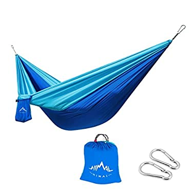 Himal Outdoor Travel Camping Multifunctional Hammocks (DeepBlue-LightBlue)