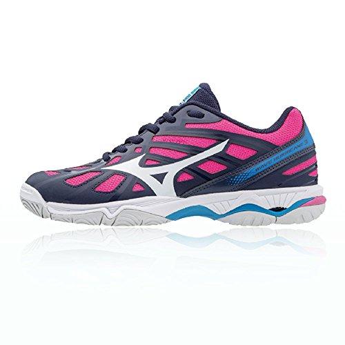Aw17 Wave Netball Pour Mizuno De Hurricane 3 Femmes Rose Chaussures qXSw856x