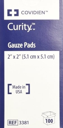 le Gauze Pads 2 X 2 - Model 3381 - Box of 100 by Kendall/Covidien ()