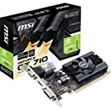 MSI GAMING GeForce GT 710 2GB GDDR5 64-bit DirectX 12 Low Profile Graphic Card (GT 710 2GD5H LP)