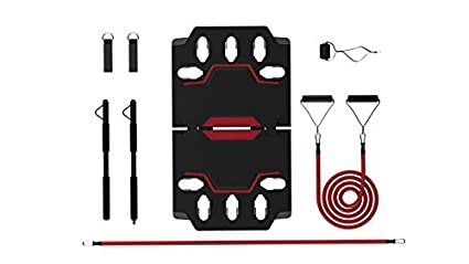 Home Gym 2.0   Full Portable Gym Home Workout Package + Extra Set Of  Resistance Bands