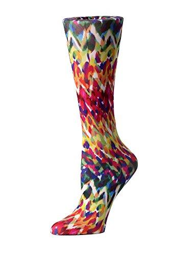 Cutieful Women's Nylon 8-15 Mmhg Compression Sock Animal Fire]()
