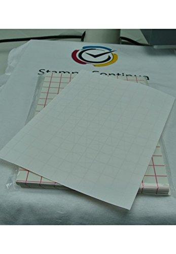 20 fogli carta transfer fotografica per tessuti chiari stampa inkjet A4 Stampa Continua