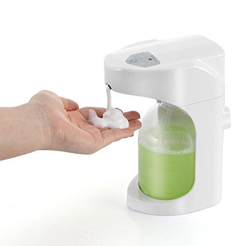 Automatic Touchless Hand Soap Dispenser Sunsbell Foam Dispenser Sensor Wall Mount Pump Touchless Liquid Infrared Soap Dispenser (500ML-Foam Dispeser)