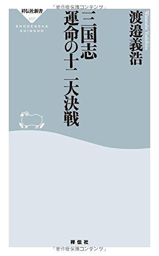 三国志 運命の十二大決戦(祥伝社新書457)