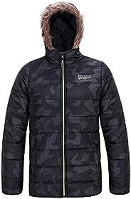 SNOW DREAMS Big Boys Winter Coat Heavy Jacket Waterproof Active Outerwear with Faux Fur Hood Outdoor Parka