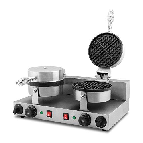waffle iron cast iron belgian - 8