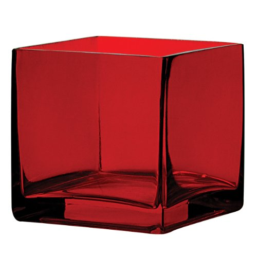 Red Square Vase - Syndicate Sales 4