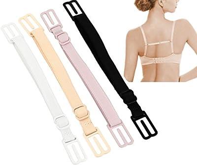 CAKYE® Women's 4Pcs Non-slip Elastic Bra Strap Holder