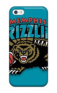 Excellent Iphone 5/5s Case Tpu Cover Back Skin Protector Memphis Grizzlies Nba Basketball (6)