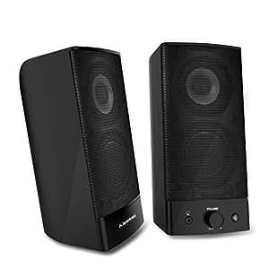 Avantree Altavoces de Ordenador para PC Bluetooth 4.0 INALAMBRICO Y con Cable Sonido estéreo, Torre y Sobremesa, Multimedia para Notebook Teléfonos Tablet - SP750 [Garantía 2 Años]