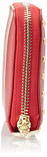 Wallet Cm X 2 Rosso Donna Alchisi Vitello 5x10x20 Portafoglio H Jolly L Pinko Zip rosso L Seta w Around R5PqcwO